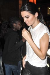 Kendall Jenner in Paris - September 2014