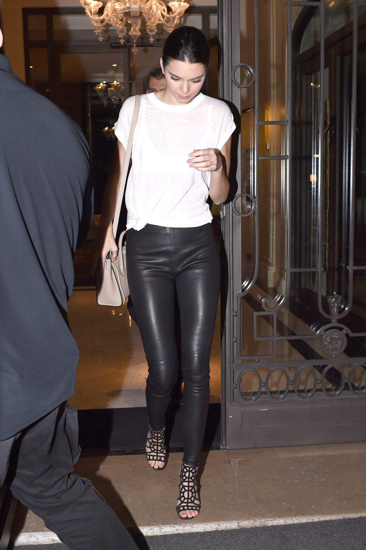 Kendall Jenner in Paris - September 2014