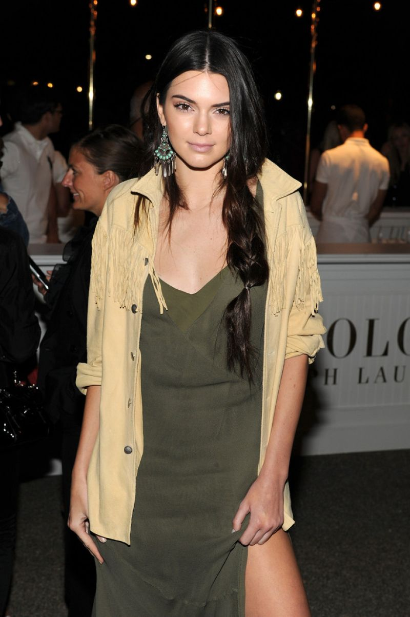 Kendall Jenner – Polo Ralph Lauren Spring 2015 Fashion Show in New York City