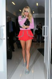 Kesha Hot in Shorts - Leaving LAX Airport in Los Angeles - September 2014