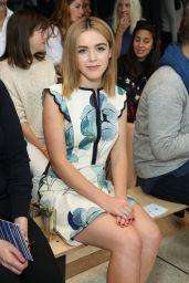 Kiernan Shipka - Tory Burch Fashion Show in New York City – Sep 2014