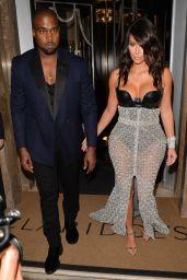 Kim Kardashian Leaving Claridge