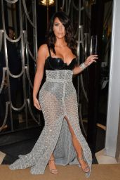 Kim Kardashian Leaving Claridge