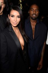 Kim Kardashian - Paris Fashion Week in Paris, Lanvin Show - September 2014