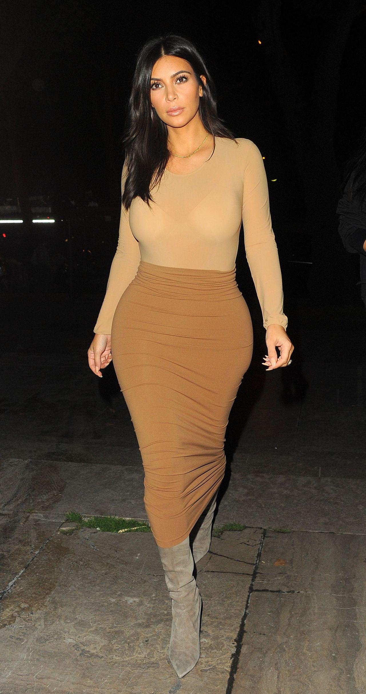 Kim Kardashian Style Out In Paris September 2014