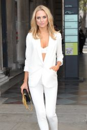 Kimberley Garner at Somerset House for London Fashion Week - September 2014