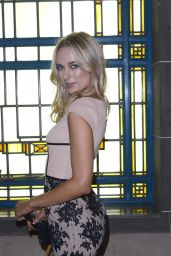 Kimberley Garner - Bernard Chandran Fashion Show in London - September 2014