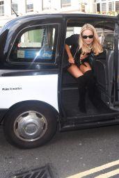 Kimberley Garner Hot Style - Somerset House for London Fashion Week - September 2014