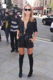 Kimberley Garner Hot Style - Somerset House for London Fashion Week - September 2014