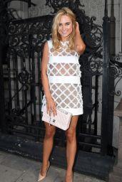 Kimberley Garner in Mini Dress at Busardi Fashion Show in London - September 2014