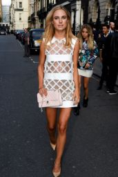 Kimberley Garner in Mini Dress at Busardi Fashion Show in London - September 2014