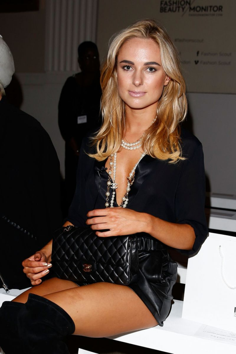 Kimberley Garner - Jamie Wei Huang  Fashion Show in New York City – Sept. 2014