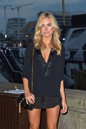 Kimberley Garner Shows Off Her Legs at Sexy Mac Launch Party in London - September 2014
