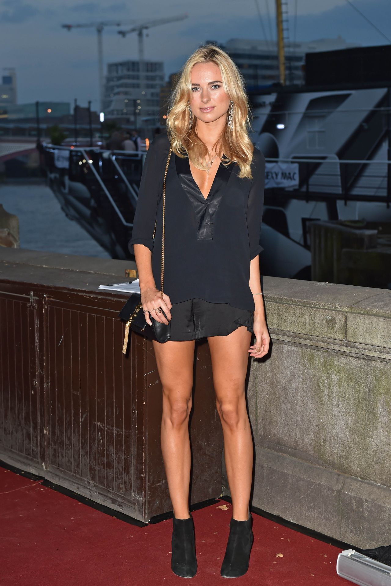 Kimberley Garner Shows Off Her Legs At Sexy Mac Launch -4268