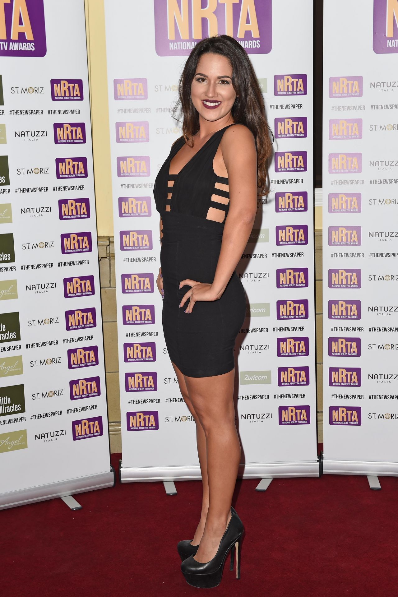 Kimberly Kisselovich – The National Reality TV Awards 2014 in London