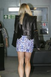 Kimberly Wyatt Shows Off Her Legs - Outside The London Studios - August 2014