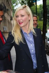 Kirsten Dunst - Leaving ABC