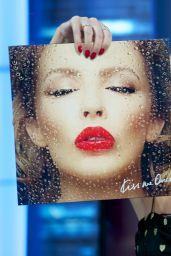 Kylie Minogue Appeared on El Hormiguero Show in Madrid