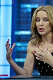Kylie Minogue Appeared on El Hormiguero Show in Madrid