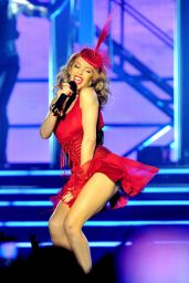 Kylie Minogue Performs at at the Echo Arena in Liverpool - September 2014