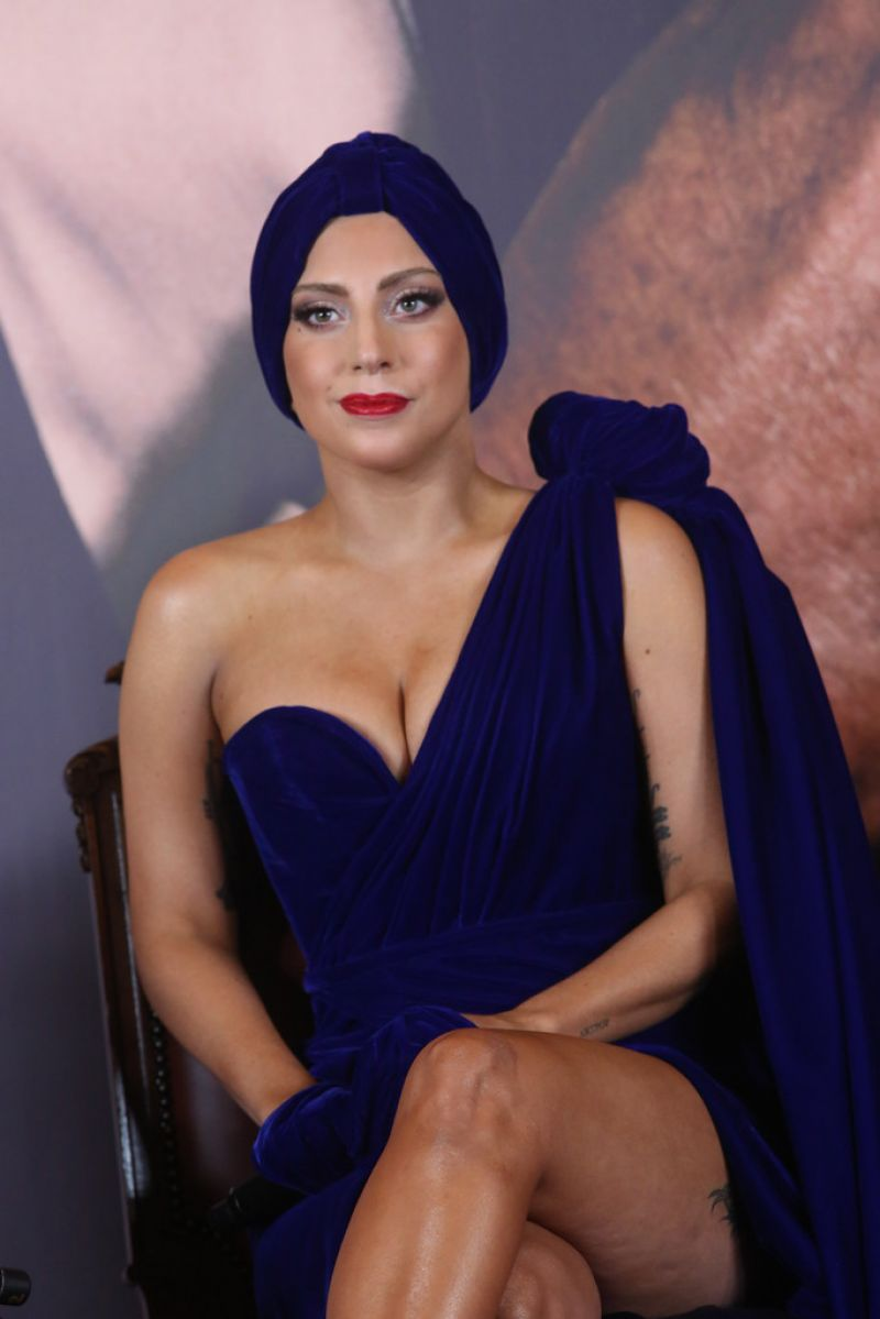 Lady Gaga - 'Cheek to Cheek' Press Conference in Brussels ...