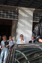 Lady Gaga Leaving Her Hotel in Athens (Greece) - September 2014