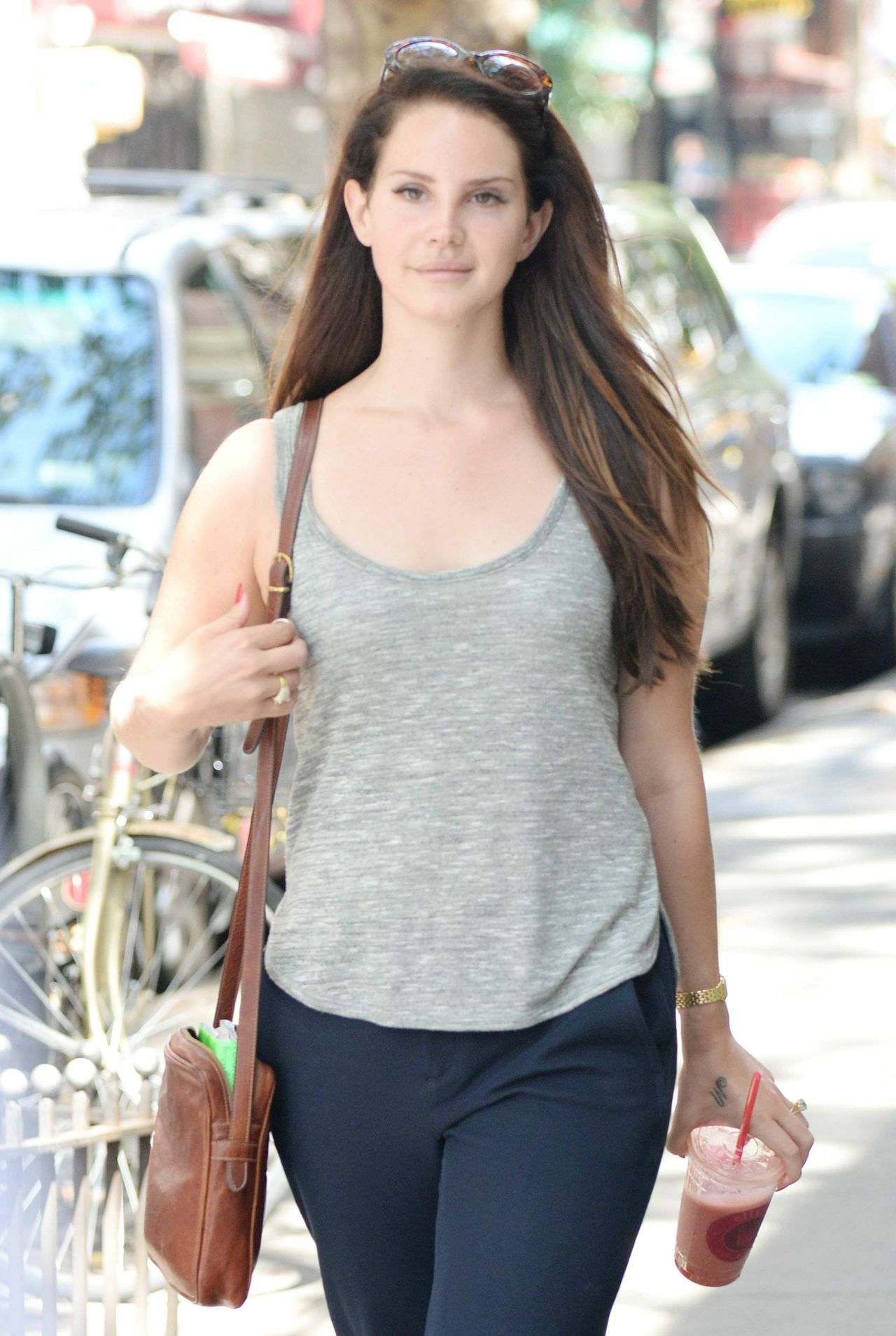 September 2014 Issue: Lana Del Rey Out In Manhattan