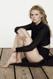 Lara Stone - Photoshoot for The Edit Magazine - July 2014