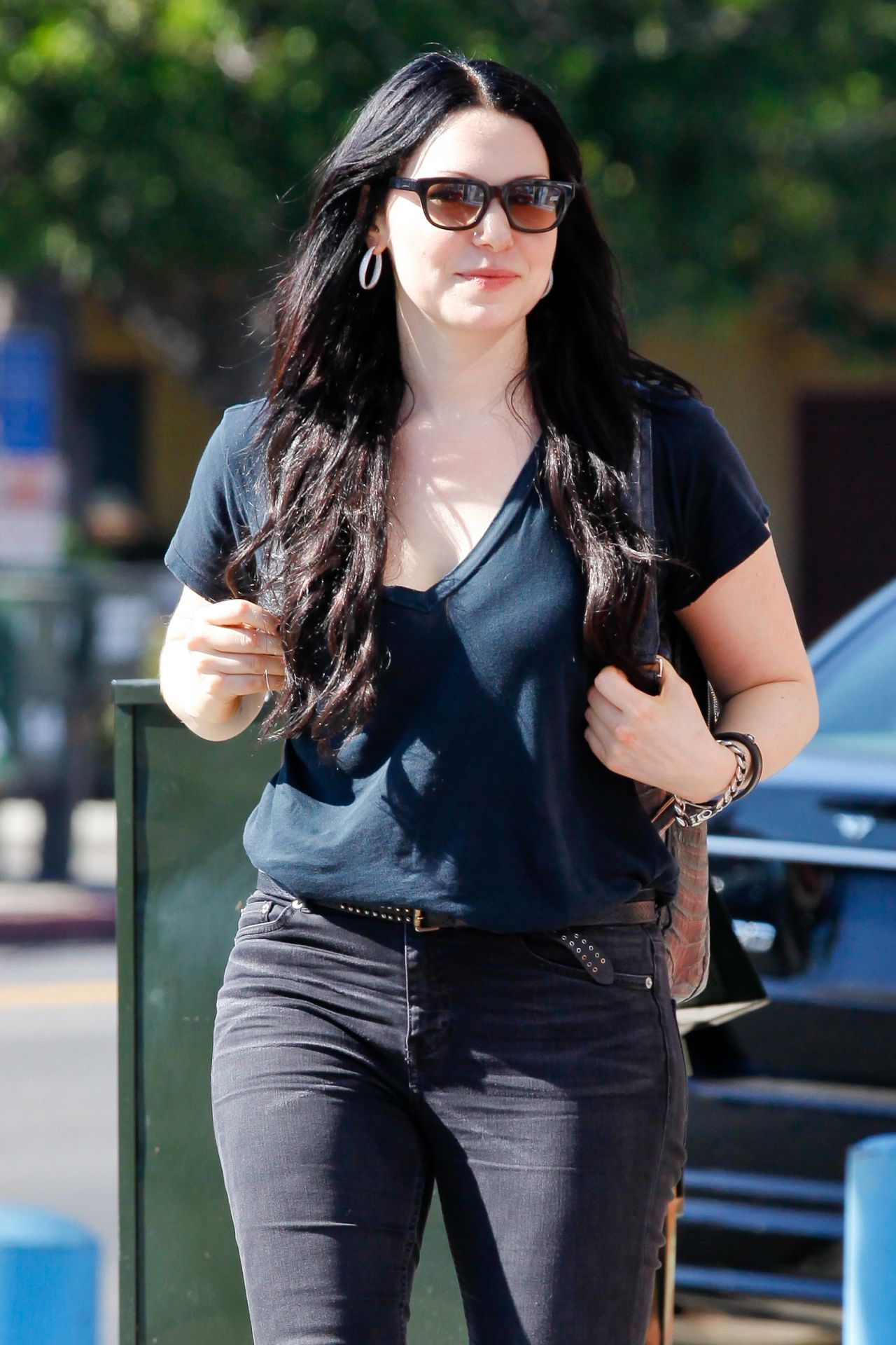Laura Prepon Street Style Out In Los Feliz September 2014