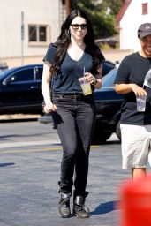 Laura Prepon Street Style - Out in Los Feliz, September 2014