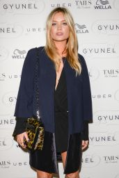 Laura Whitmore - London Fashion Week Spring/Summer 2015 - Gyunel Catwalk Show