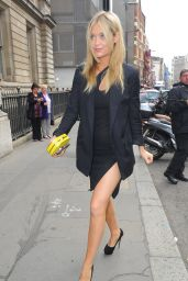 Laura Whitmore - Outside the Julien Macdonald Show at London Fashion Week - September 2014