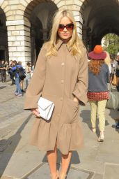 Laura Whitmore - Somerset House for London Fashion Week - September 2014