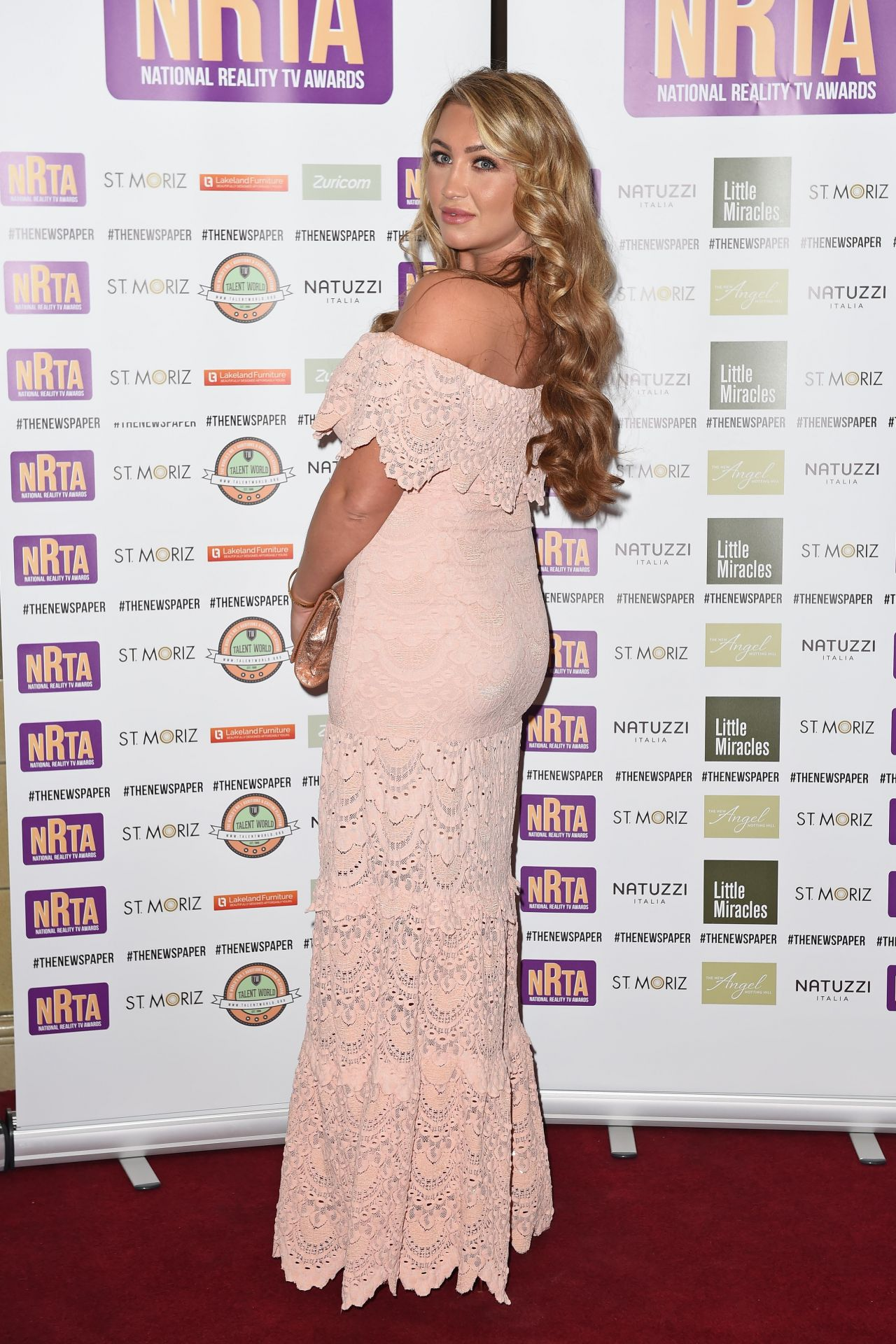 Lauren Goodger - The National Reality TV Awards 2014 in London