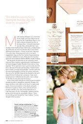 Lindsay Ellingson - Brides Magazine - October/November 2014