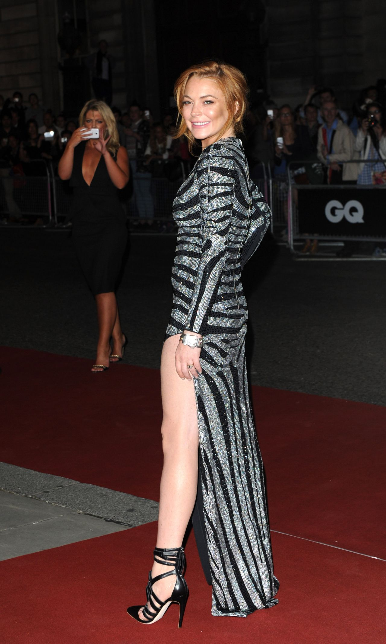 Lindsay Lohan Gq Men Of The Year Awards 2014 In London