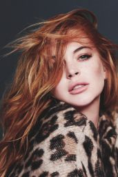 Lindsay Lohan - Wonderland Magazine September/October 2014 Issue