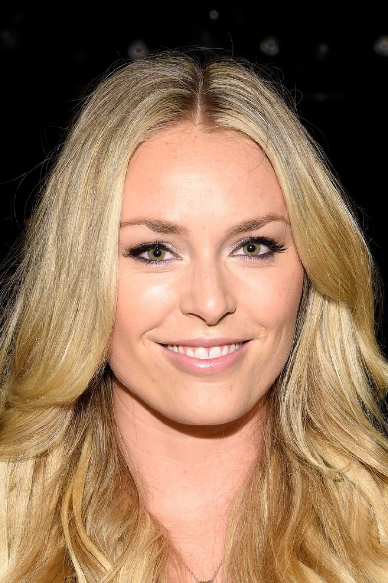 Lindsey Vonn - Project Runway Spring 2015 Fashion Show in New York City