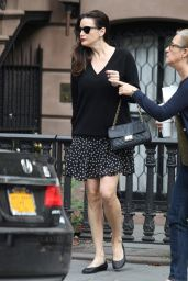 Liv Tyler in New York City - Leaving Her Apartment, Sept. 2014