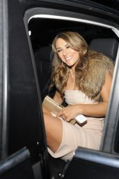 Liz Hurley Night Out Style - End Of Summer 2014 Party