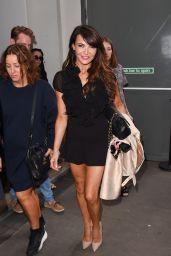 Lizzie Cundy - Julien Macdonald Show at London Fashion Week - September 2014