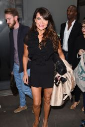 Lizzie Cundy - Julien Macdonald Show at London Fashion Week - September 2014