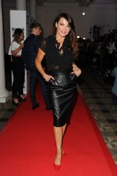 Lizzie Cundy - Scottish Fashion Awards 2014 in London
