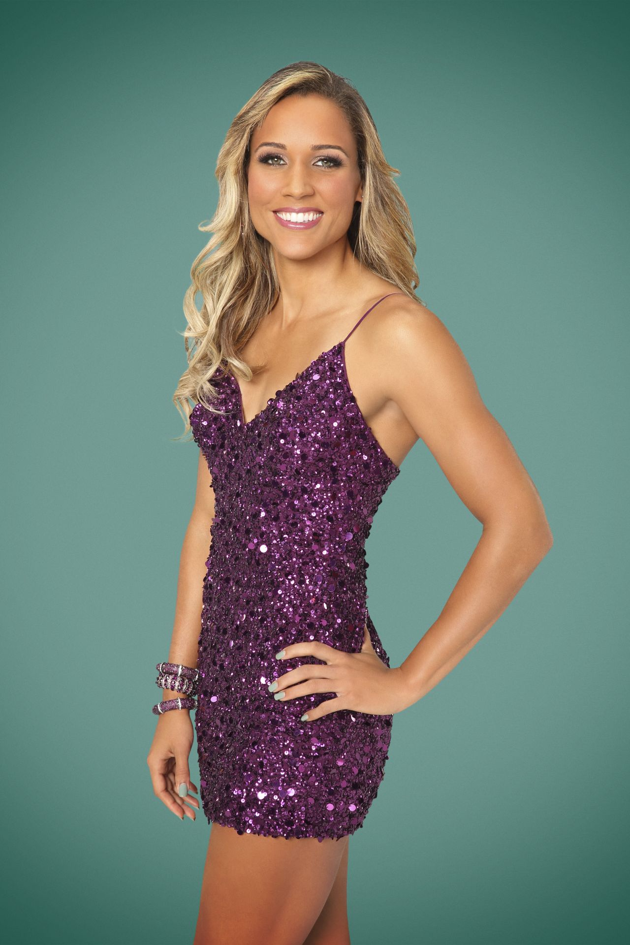 Lolo Jones Promoshoot – Dancing With the Stars Season 19