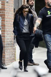 Lorde Style - Leaving the Bowery Hotel in New York City - September 2014