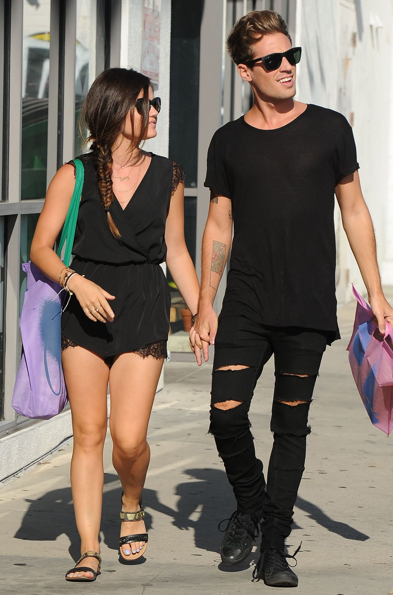 Lucy Hale u0026 Her Boyfriend Shopping in Beverly Hills - September 2014