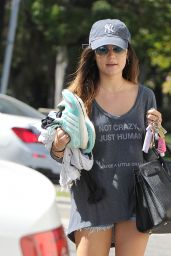 Lucy Hale Leggy Out in Los Angeles, September 2014