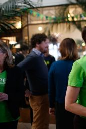 Lucy Lawless - Green Party Election Campaign Event in Auckland - September 2014