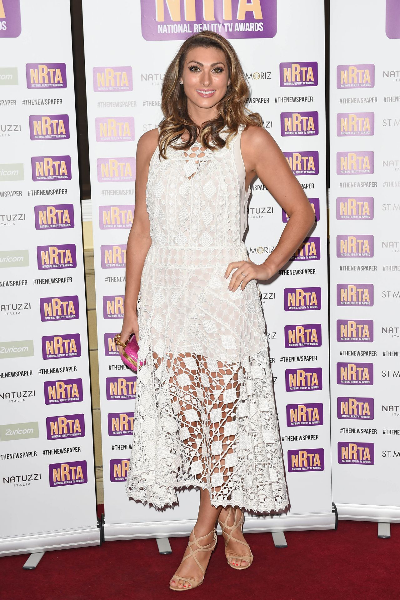 Luisa Zissman - The National Reality TV Awards 2014 in London