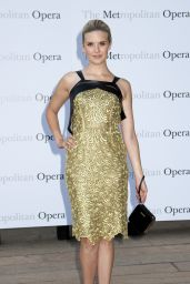 Maggie Grace - Metropolitan Opera Season 2014/2015 Opening in New York City